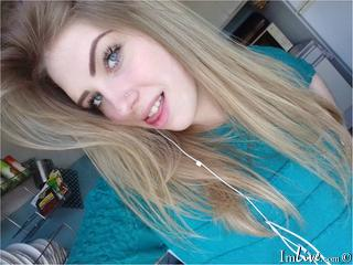 I'm 20 And I'm A Camming Luscious Hottie, My Name Is AdoredBlondy